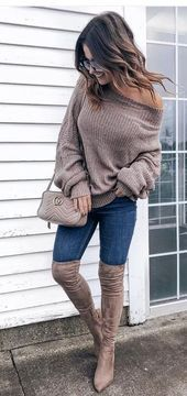 50 Chic Winter Outfits Ideas To Copy Right Now – #ideas #outfits #right #winter