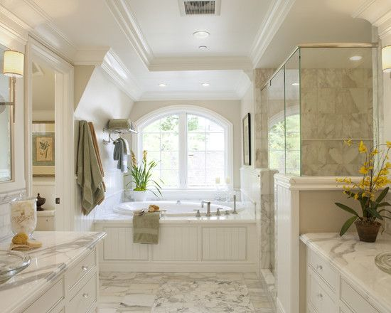 Master Bath Design Ideas a country type bathroom with neutral palette made of white and light gray the 1000 Images About Master Bath On Pinterest Traditional Bathroom Vanities And Bathroom
