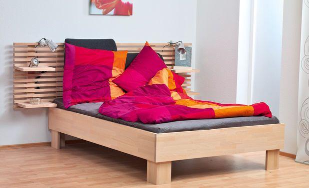 betthaupt bauen holzleisten selbst bauen und bauanleitung. Black Bedroom Furniture Sets. Home Design Ideas