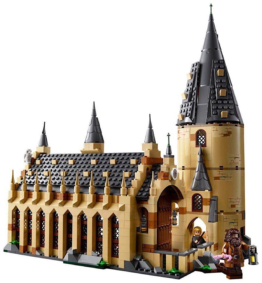 Harry Potter Fans Aufgepasst Bau Dir Hogwarts Aus Lego Hogwarts Grosse Halle Lego Hogwarts Hogwarts