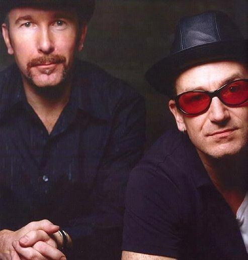 The Edge & Bono