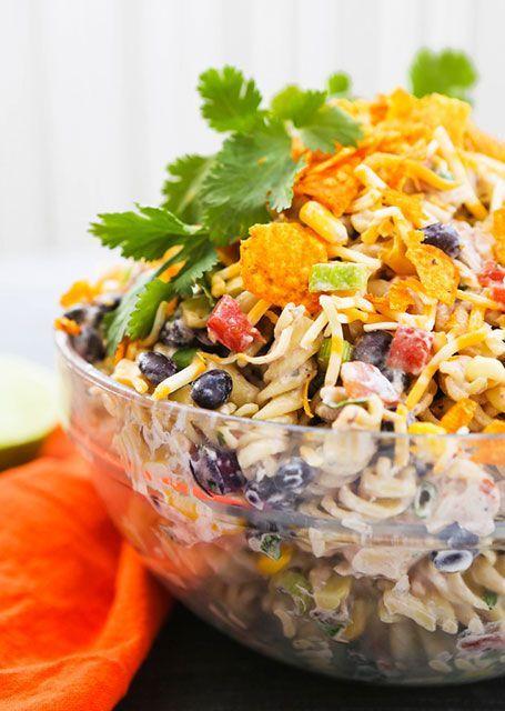 taco ranch pasta salad  hidden valley® ranch in 2020