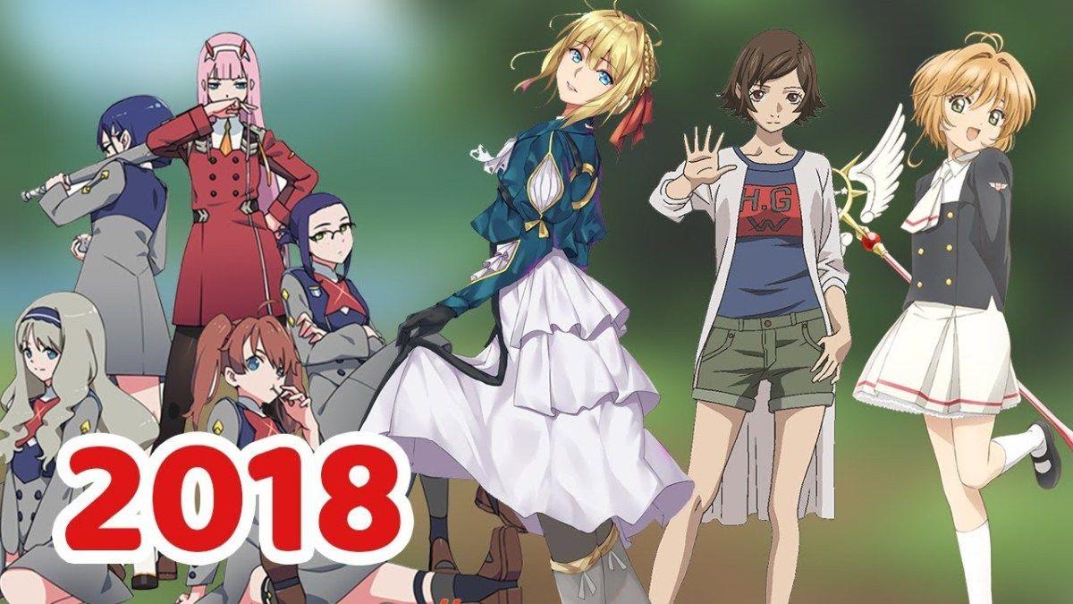 Top 7 - Anime hay nhất nên xem vào mùa hè 2018