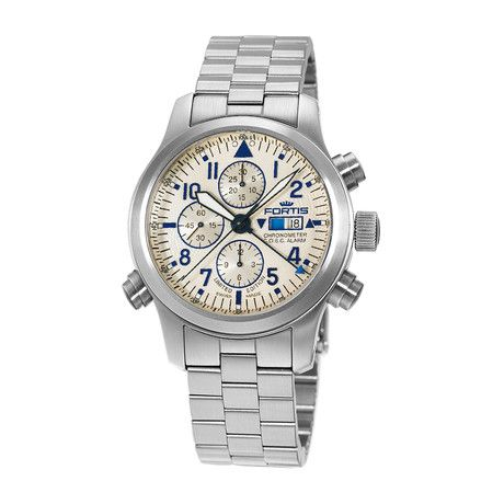Fortis F-43 Flieger Chronograph Automatic // 702.20.92 M // New