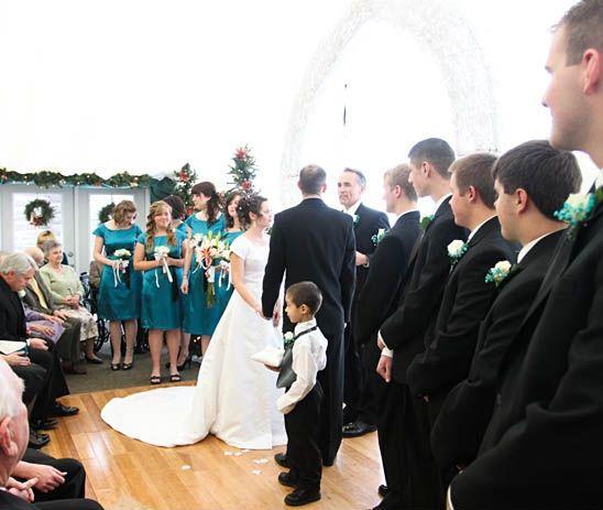 Traditional Church Wedding Day Timeline