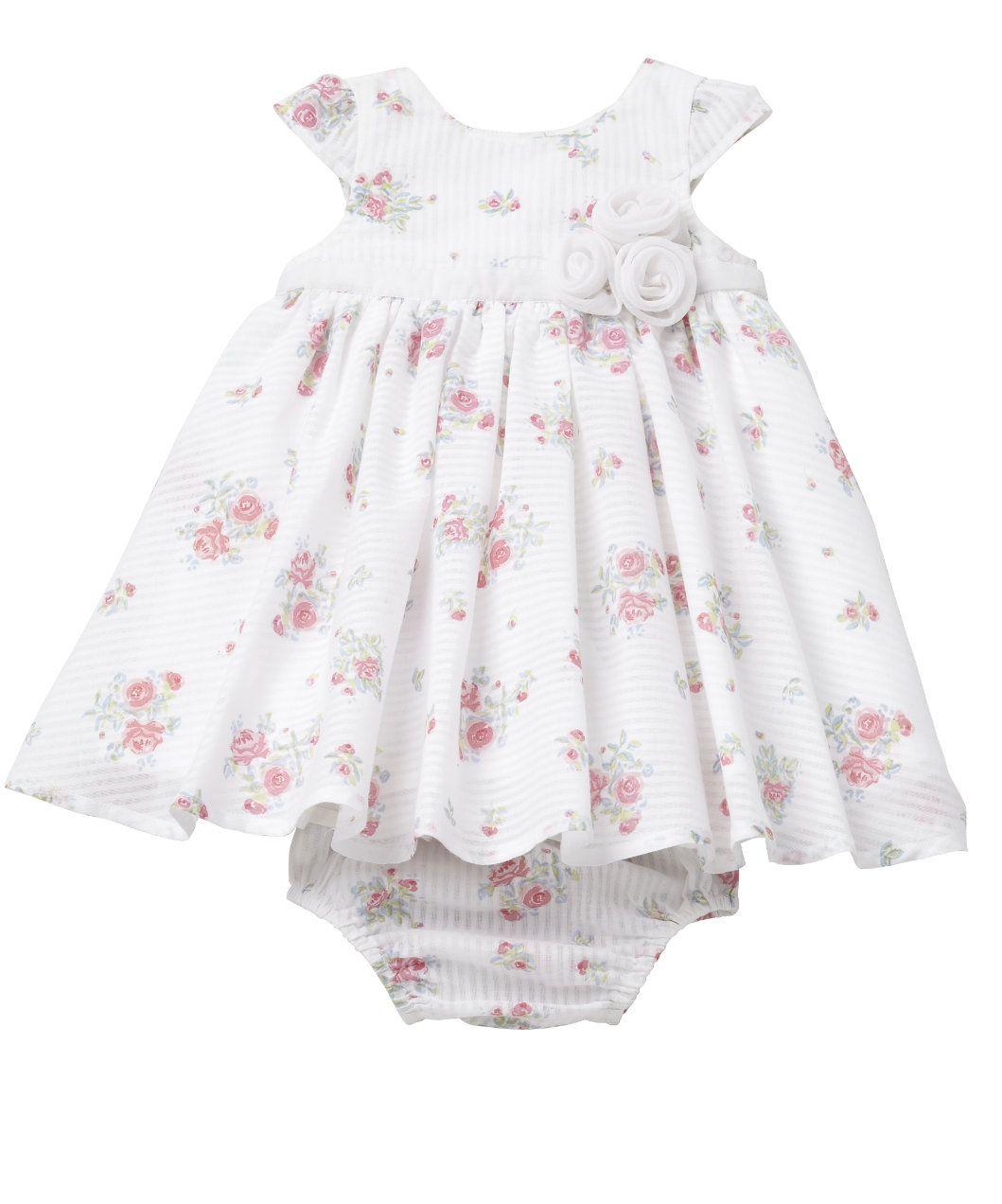 7bb246e43 Mothercare Stripe Floral Dress