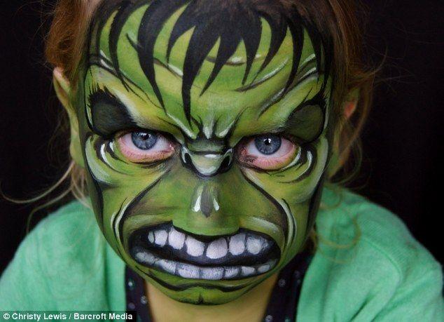 Cuerpo pintar las caras de los ni os pintura caras - Pinturas de cara para ninos ...
