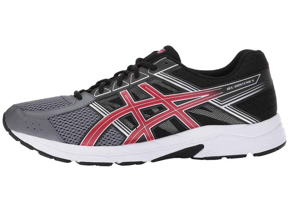 d5ca8285 ASICS GEL-Contend 4 Men's Running Shoes Carbon/Classic Red/Black ...