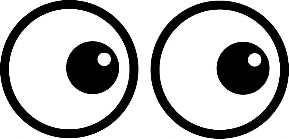 Image result for cartoon clipart of female animal eyes ...