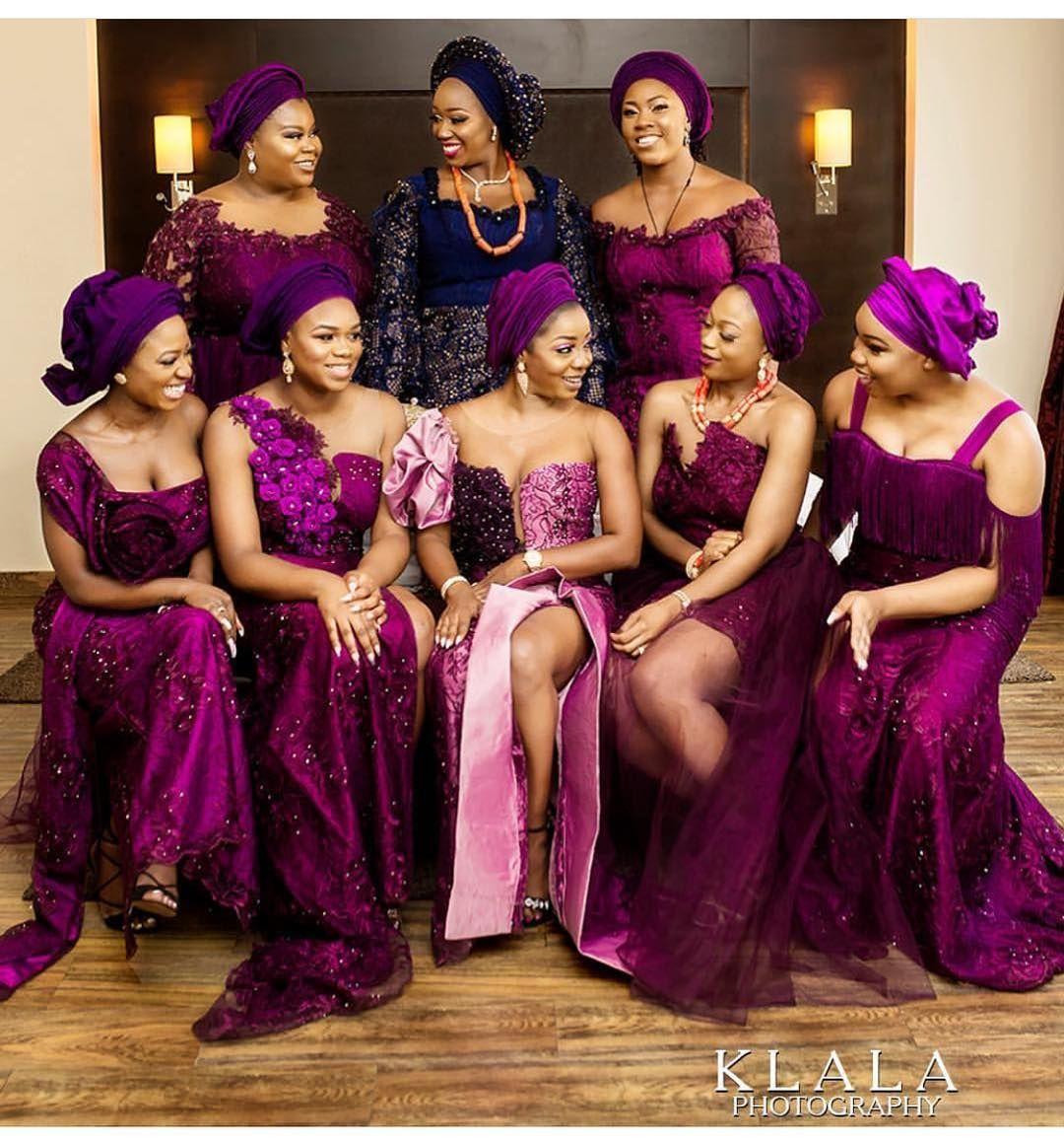 No 1 Nigerian Wedding Blog On Instagram Is Your Squad Lit Enough Wedding Planner Ban Nigerian Bridesmaid Nigerian Wedding Dress African Wedding Attire