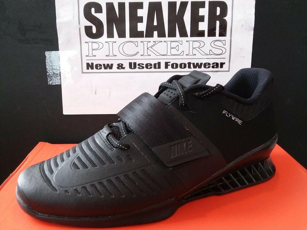 fb7fe30aae7fbd (eBay Sponsored) Nike Romaleos 3 - Black   Black - 852933 004 - Training