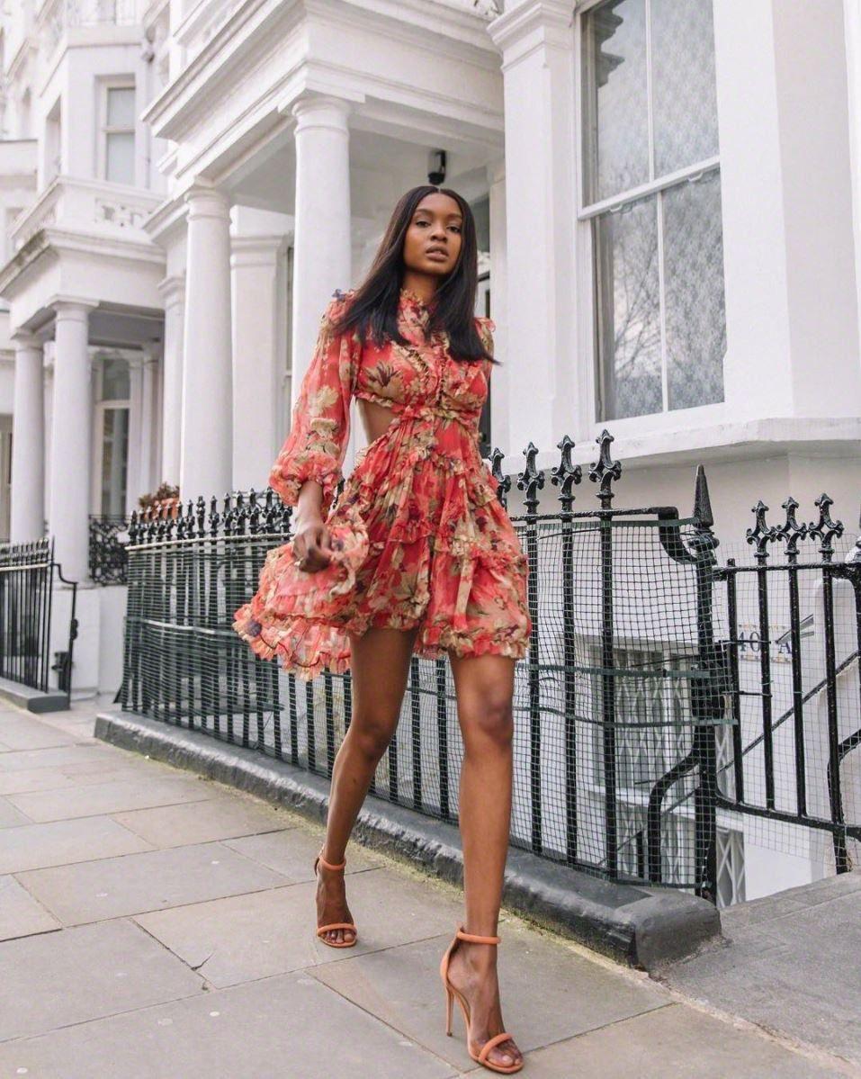 Blog lovenatasha ndlovu wears the melody lace up short dress from