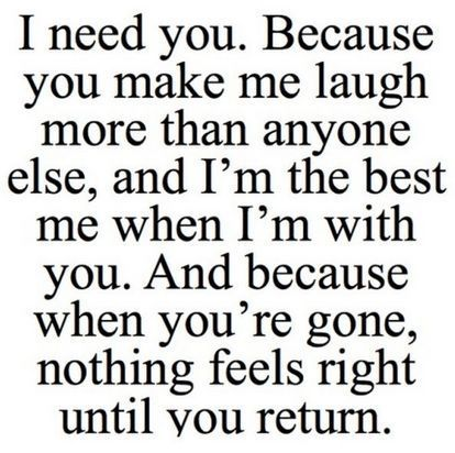 Best I Love You Quotes Amazing 48 Great Quotes For Boyfriends Quotable Quotes Pinterest