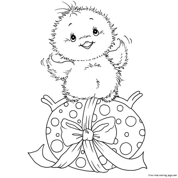 Free Printable Chicken And Easter Eggs Coloring Pages Easter Egg