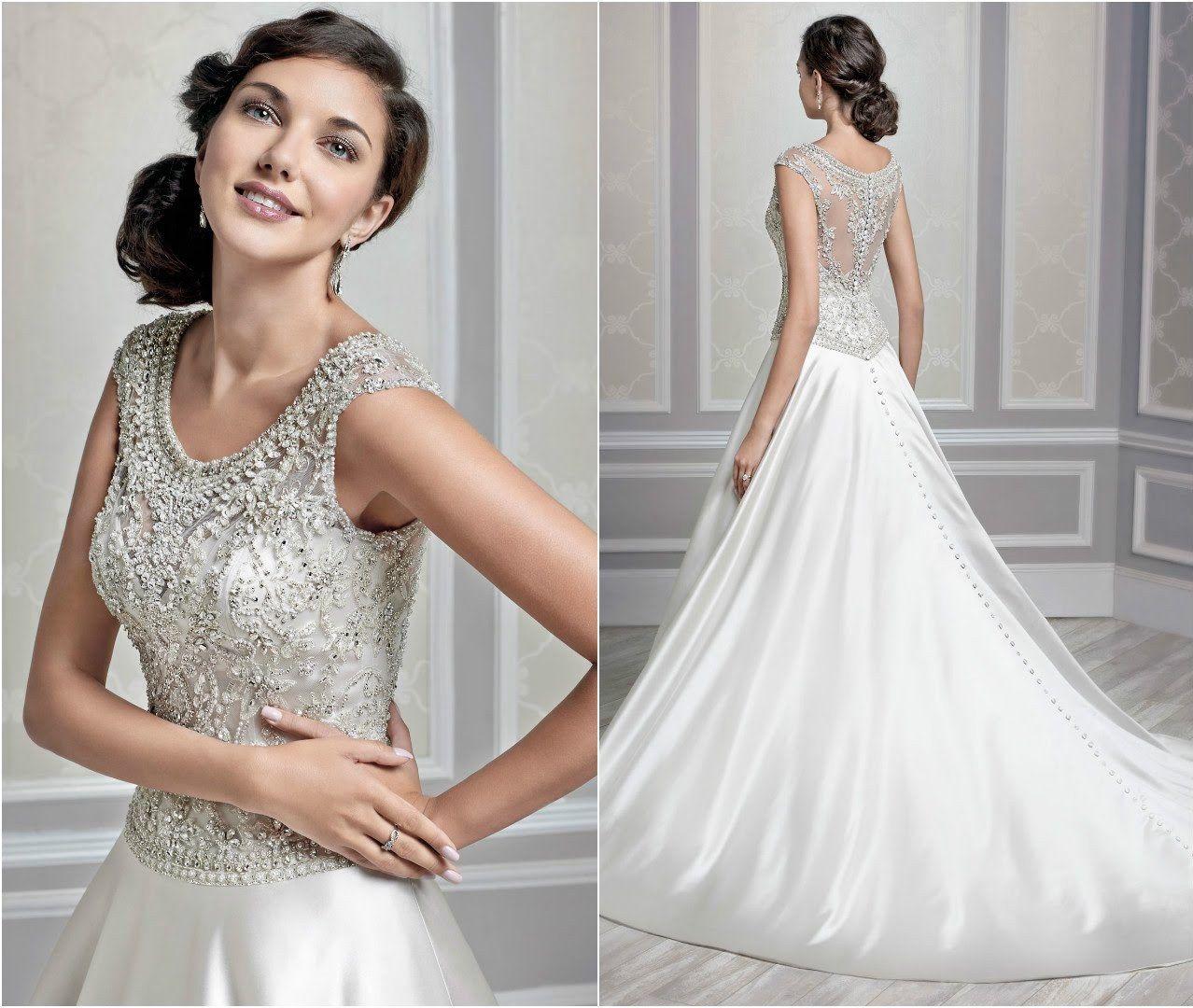 Silver Wedding Gowns: Silver Wedding Dress