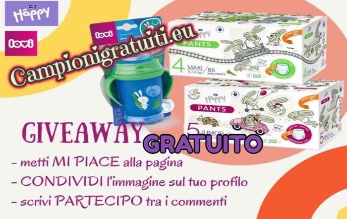 Giveaway Lovi Italia & Happy Pannolini vinci Pannolini e Tazza