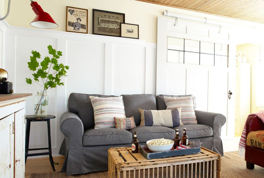 Brilliant Gray Sofa Cover And Antique Coffee Tables Also White Wall Beatyapartments Chair Design Images Beatyapartmentscom