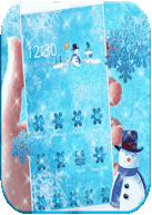 Theme Ice Frozen Snow - https://apkfd.com/theme-ice-frozen-snow/