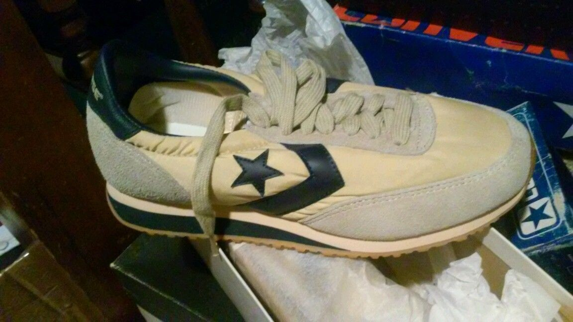 new styles 49ae3 53a8e ... promo code vintage converse all star one star 80s running road star  mens size 7.5 shoes