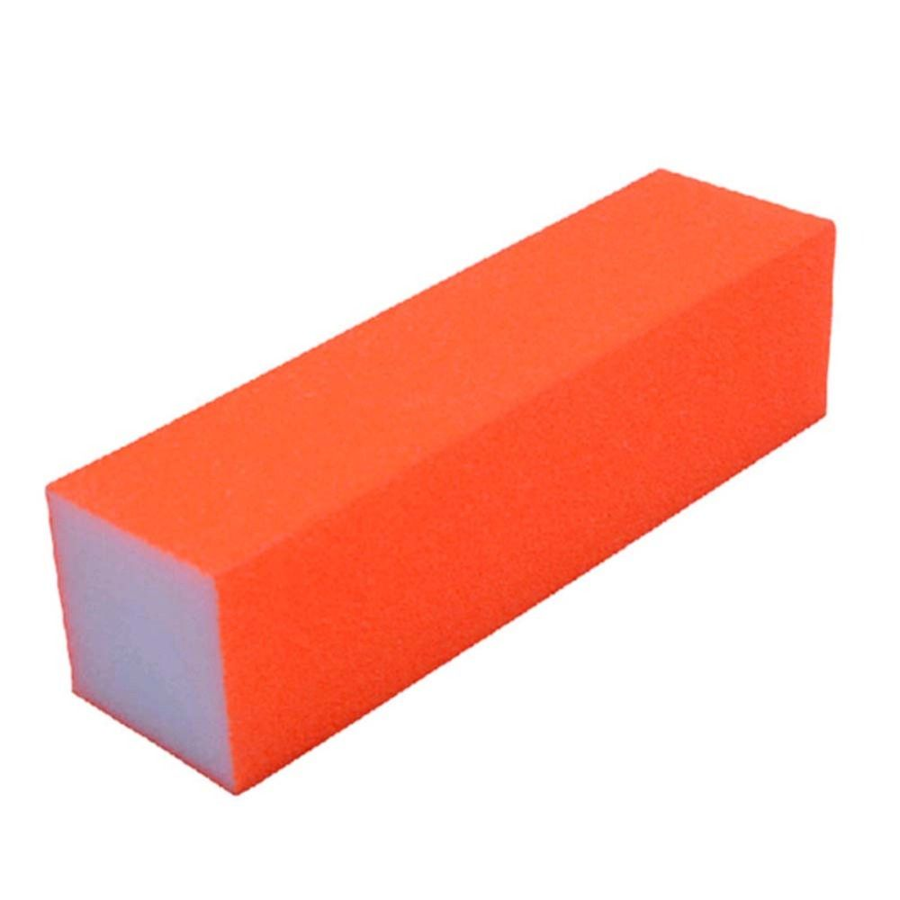 1Pc Buffer Nail Files Fluorescent Color Sanding Block Manicure Nail ...