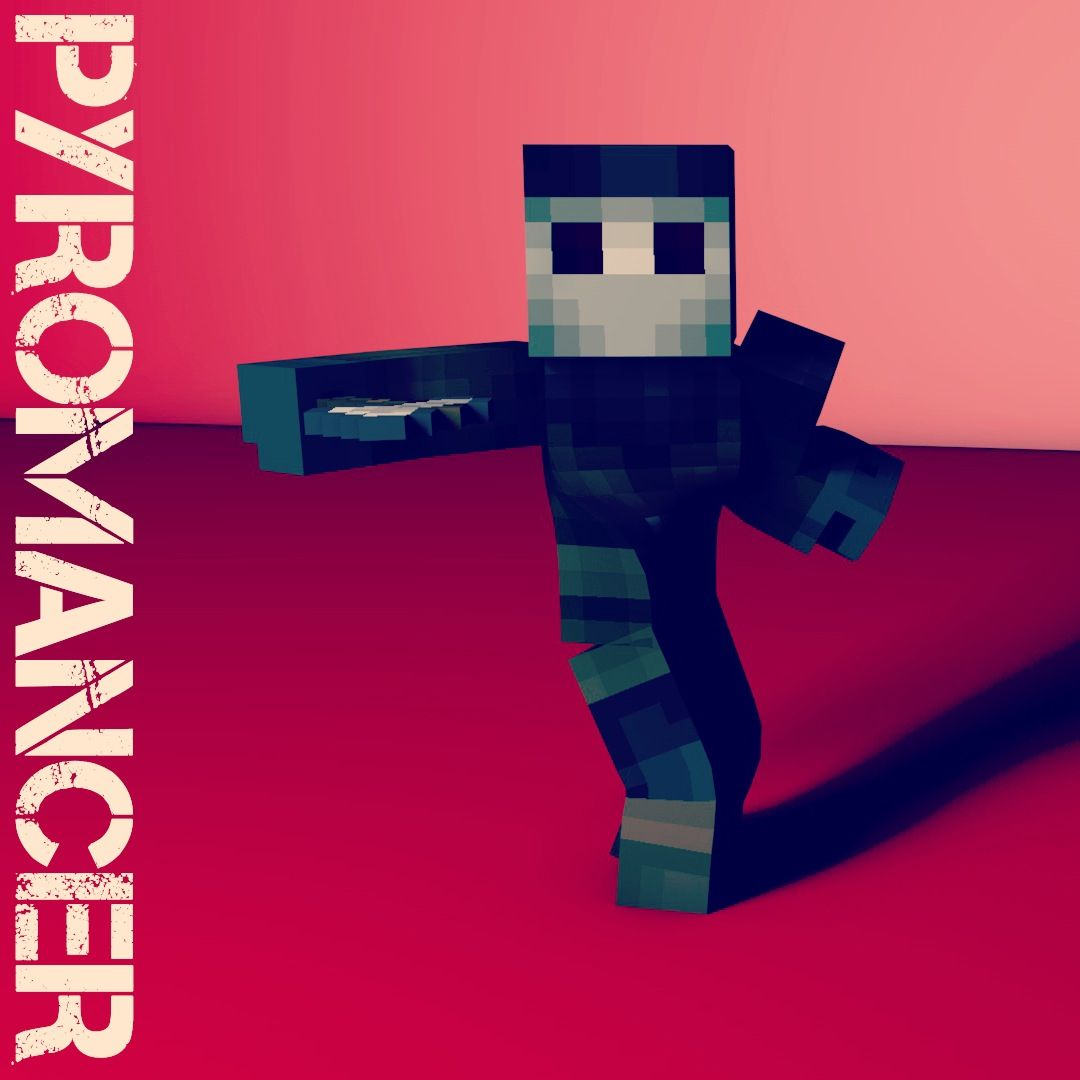The pyromancer for Titan Reach! :) #minecraft #minecraftpc #minecraftonly Server: faction.adroition.net