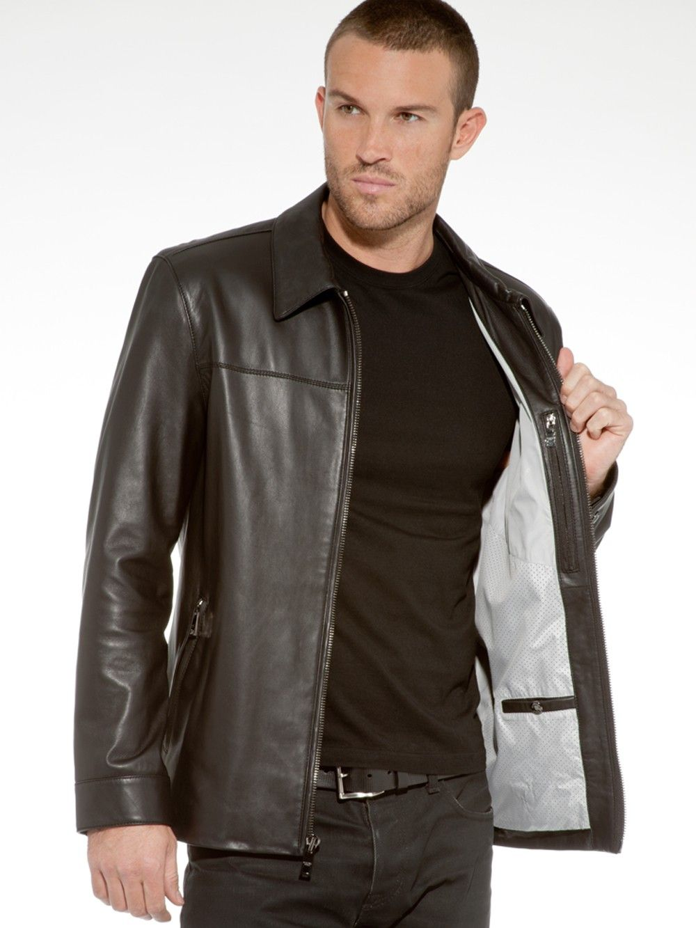 0e5774632d76 Westside Jacket - MENS Andrew Marc, Leather Jackets, Cool Style, Men's Style ,