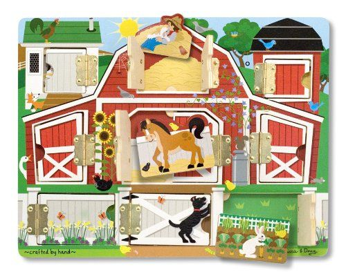 Melissa & Doug Magnetic Farm Hide and... for only $10.86