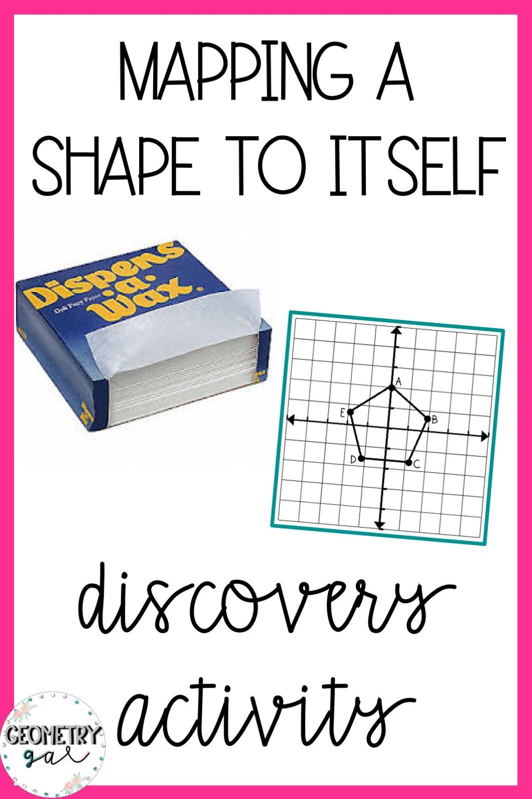 Geometry Lesson Mapping A Shape To Itself