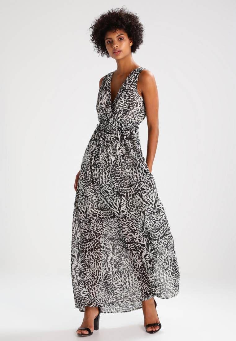 7b12145203 VMHOLLY - Maxikleid - black. Details:Unterkleid. Modelgröße:Unser Model ist  176 cm groß und trägt Größe 36. Futter:100% Polyester. Passform:tailliert.