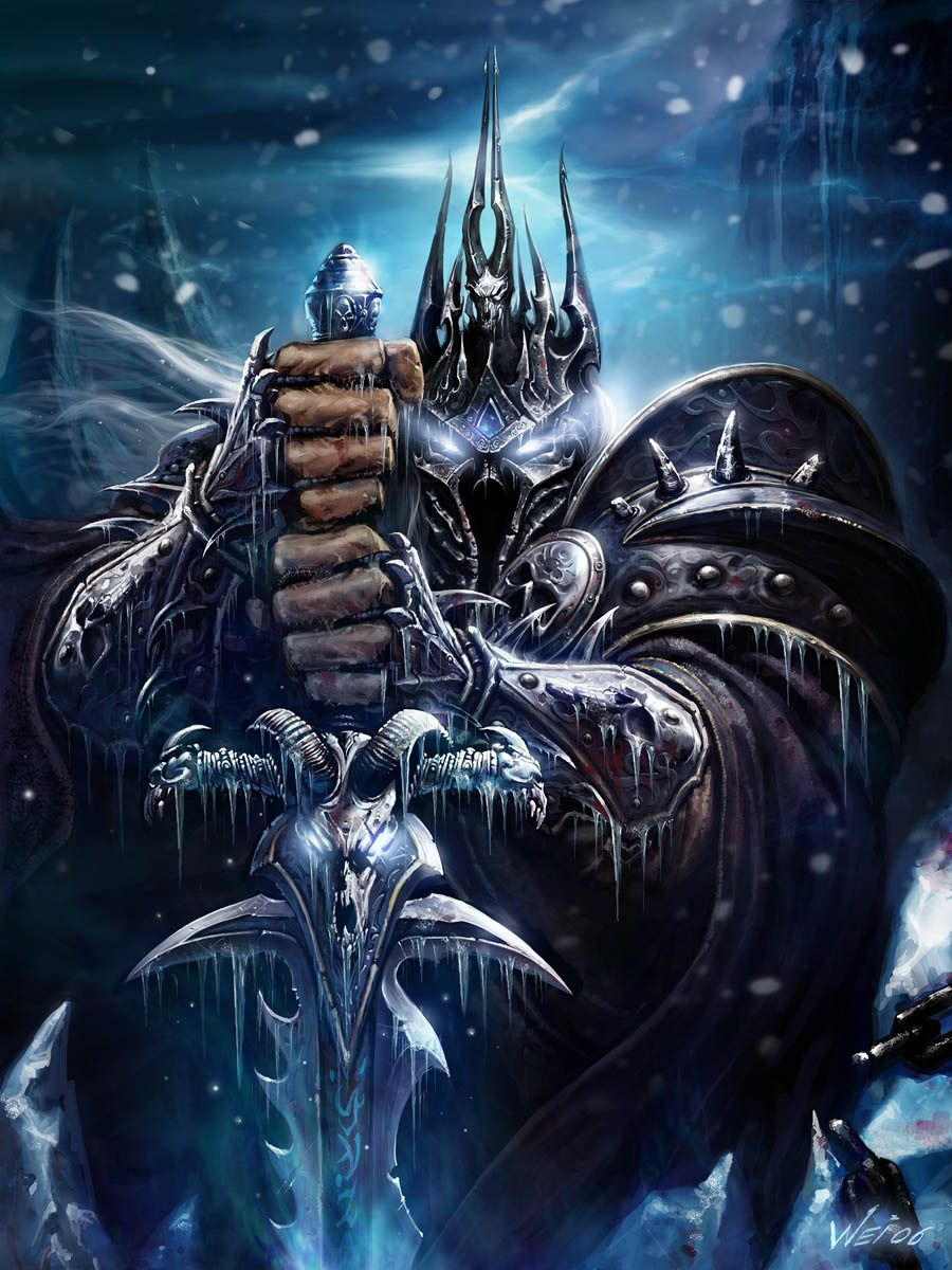 Wow Lich King Artist Wei World Of Warcraft Lich King