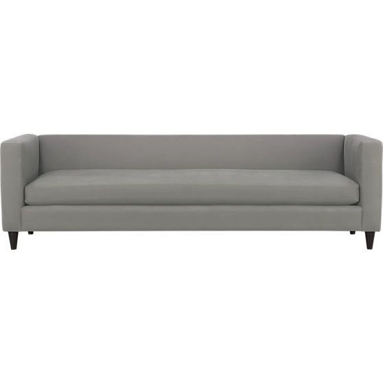 Movie Sofa In Sofas Cb2 Steel Sofa Sofa Styling Modern Couch