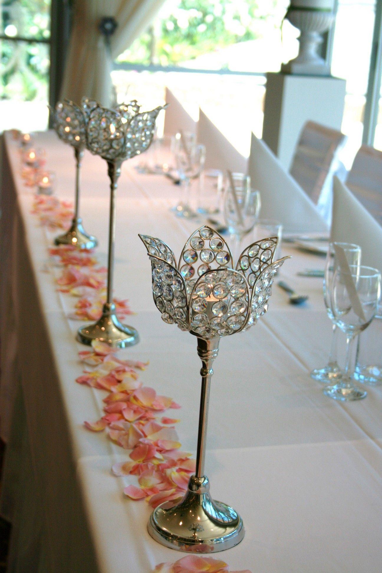 Diy wedding table decorations ideas  DIY elegant table decorations  decor  Pinterest  Elegant table