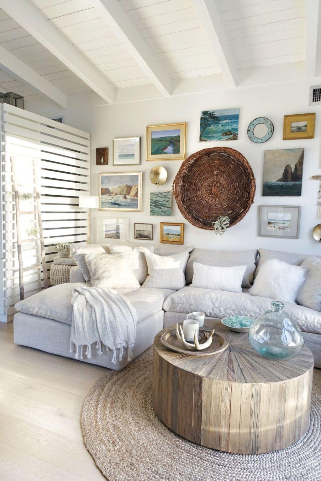 38 Comfy Coastal Living Room Decor and Design Ideas | Coastal living ...