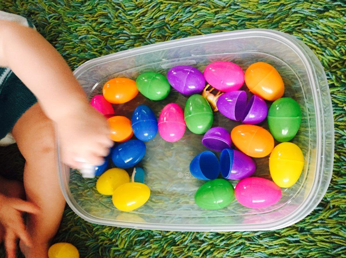 Plastic eggs play saturday box of activities for 12 18 month olds saturday box of activities and toys negle Gallery