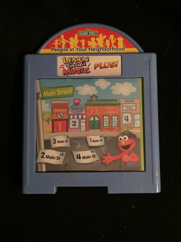 Learn Through Music Plus Sesame Street Kids Heaven In