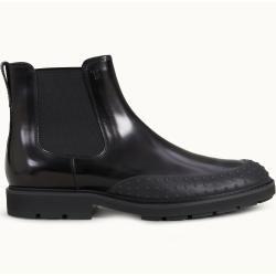 Tod's - Chelsea Boots aus Leder, Schwarz, 10 - Shoes Tod's