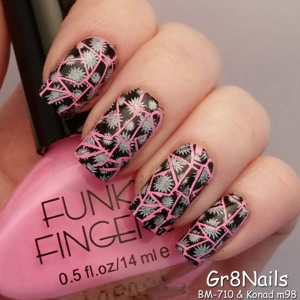 Konad Stamping Nail Art Designs Hession Hairdressing