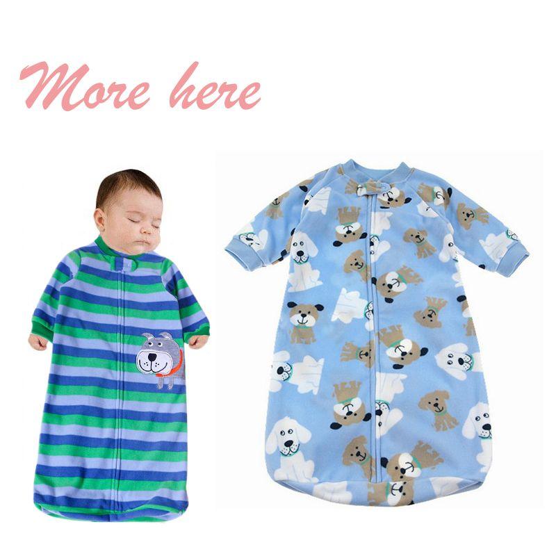 Retail Newborn Baby Clothing Sleeping Wear Bag Infant Long Sleeved Romper Sleepsacks
