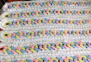 Mile-a-minute afghan: Baby Rings