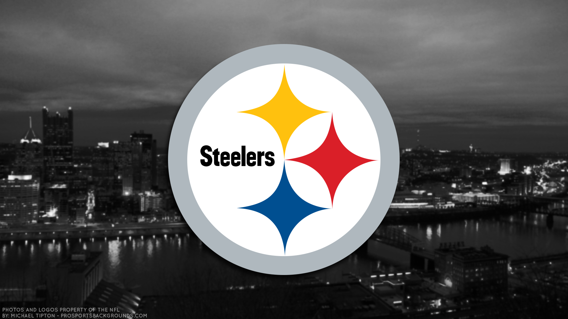 Pittsburgh Steelers 2017 HD 4k Schedule Wallpaper