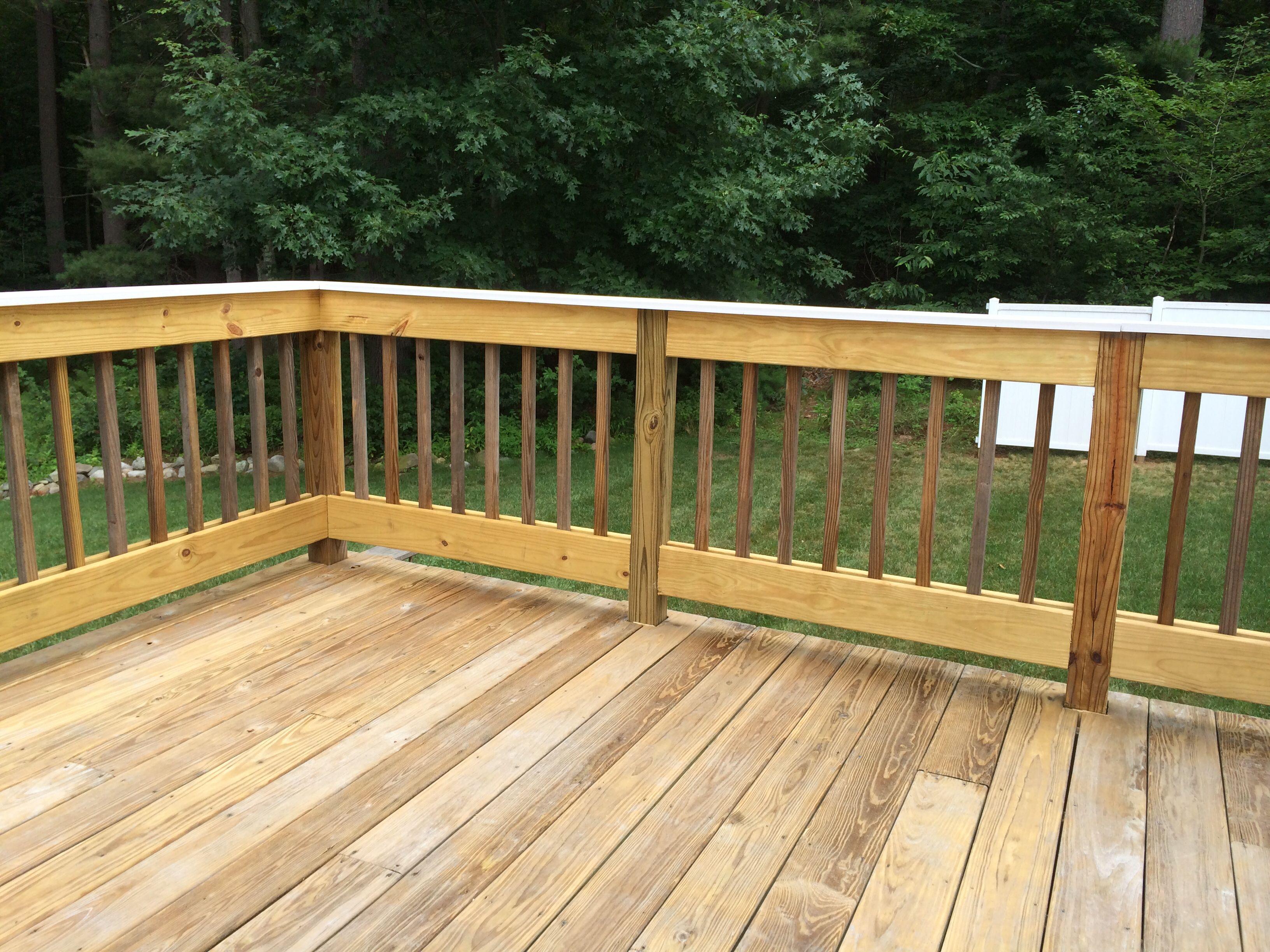 DIY Deck Railing Design Bring your deck back to life