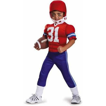 disguise football player toddler muscle halloween costume walmartcom