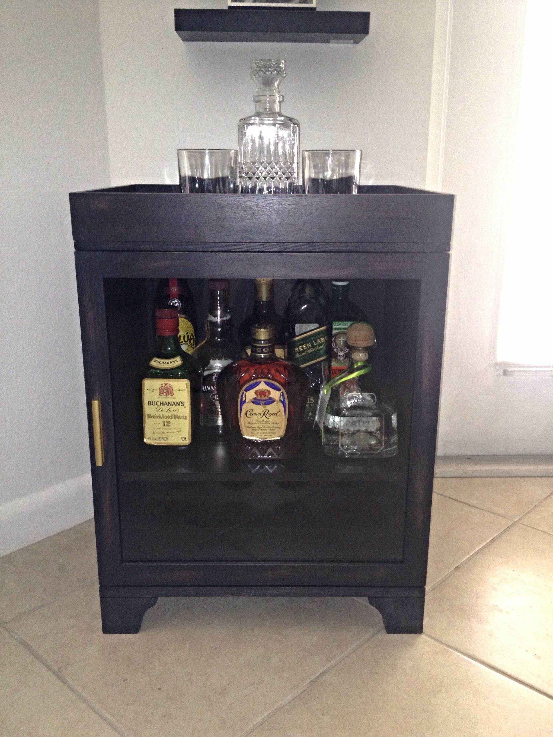 My mini Bar!!!! ;) | Mini bar, Liquor cabinet, Decor