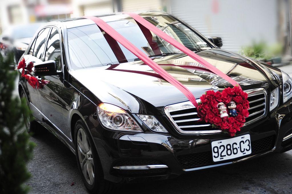 Mercedes Benz W212   Wedding Car