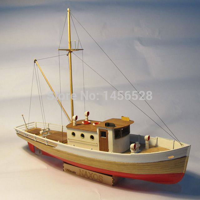 Classic wooden sailing boat scale model wood scale ship 1/50 NAXOS ...