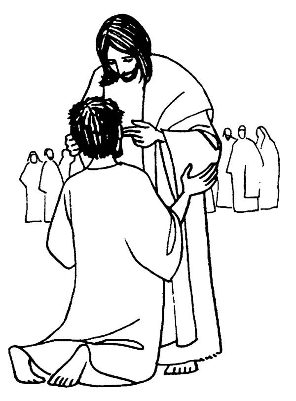 Free Jesus Miracles Coloring Pages