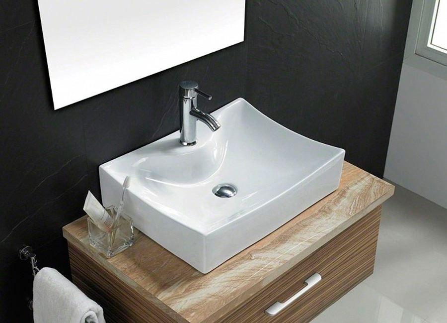rectangular wash basin counter top or