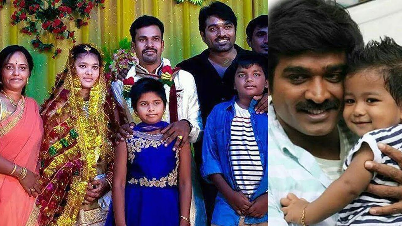 Actor Vijay Sethupathi Family Photos - Vijay Sethupathi with