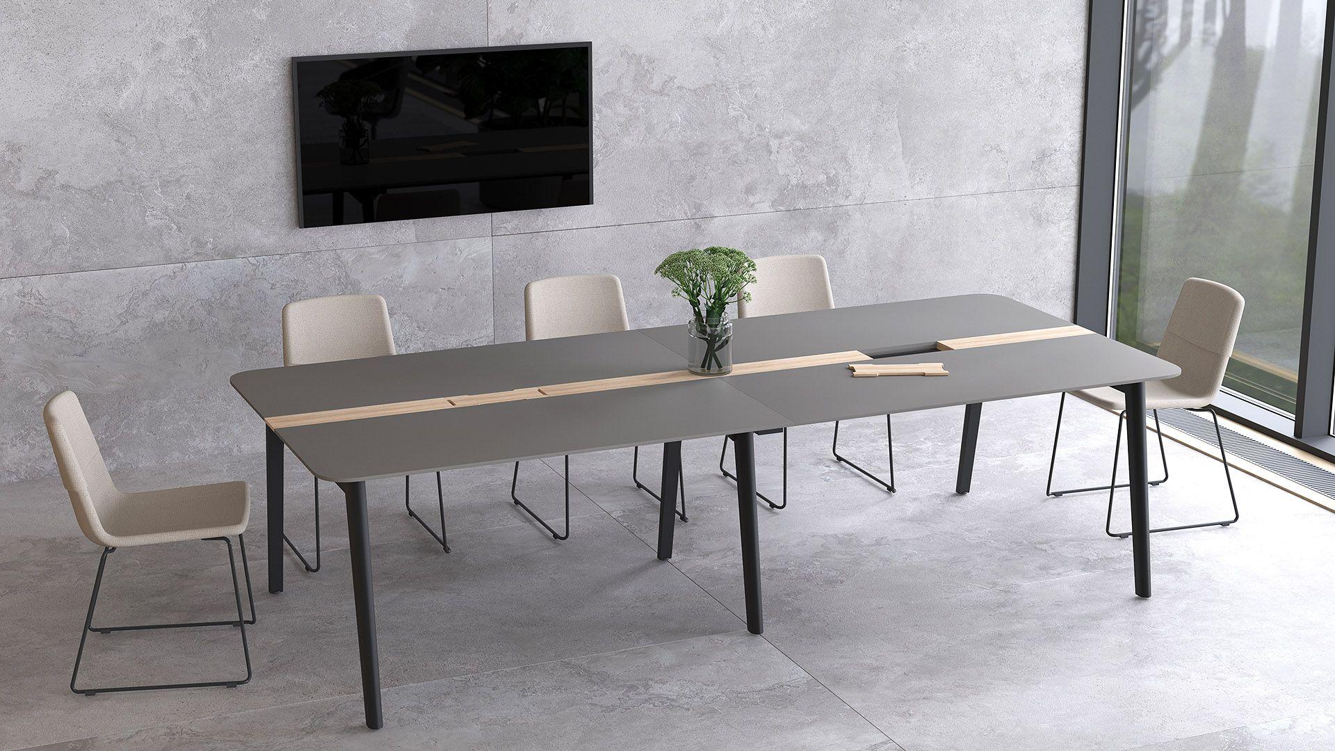 Nova Wood Desks By Narbutas Wood Desk Furniture Home