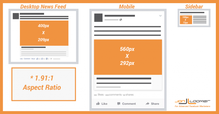 Facebook Link Thumbnail Image Dimensions [Reference] | Lo